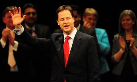 Nick Clegg Liberal Democrat Spring Conference