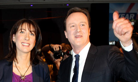 David Cameron At The Conservative Party Spring Conference