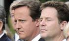 David Cameron and Nick Clegg.