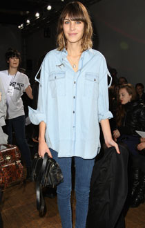Alexa Chung in double denim