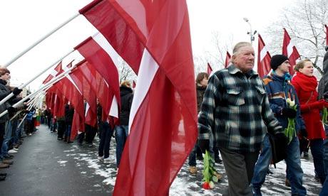 Veterans of Latvian Legion