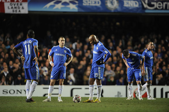 The bitter truth for Chelsea is that too many of their vaunted performers failed to deliver. Once again, Drogba's European season ended in disappointment and disgrace   Henry Winter