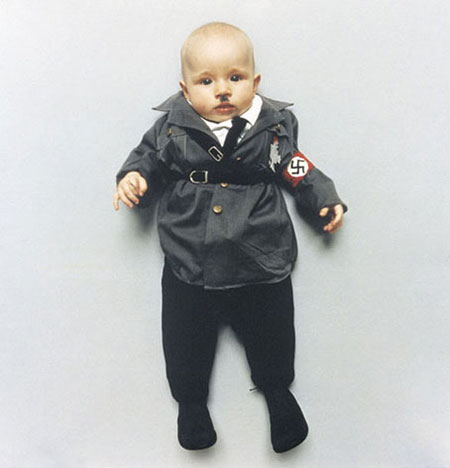 Baby dictators: Hitler