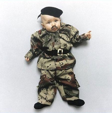 Baby dictators: Saddam Hussein