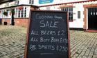 closing pub