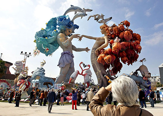 Las Fallas festival, Valencia  World news  The Guardian