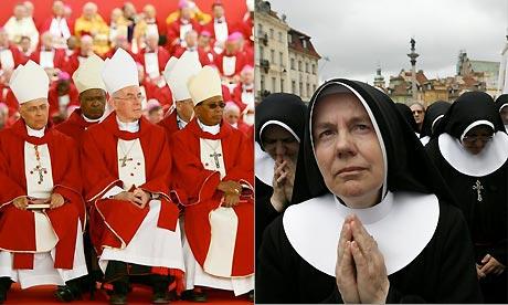 Nuns and bishops