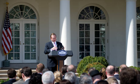 [Move the Center to less selfishness, Gibbs] Robert Gibbs says leftwing critics of Obama 'ought to be drug tested'   Richard Adams   World news  