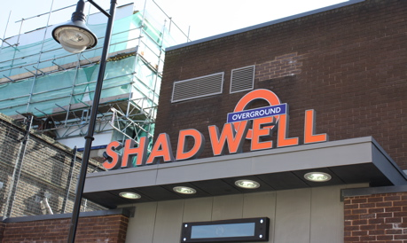 London: Shadwell Overground station