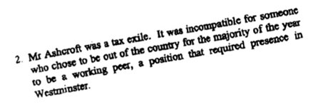 Extract from letter from William Hague to Tony Blair, 23 May 1999