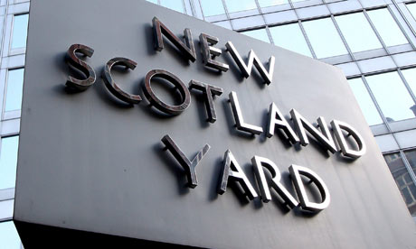 New Scotland Yard in London.