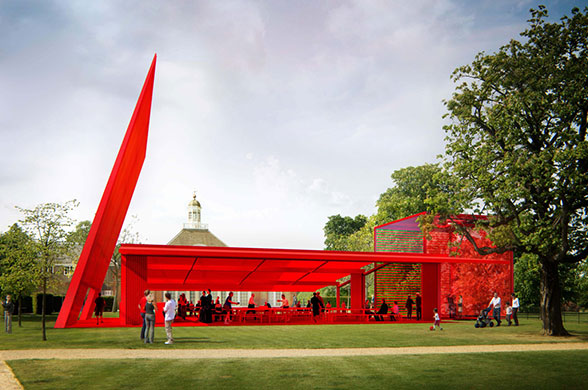 Serpentine gallery: Serpentine Gallery Pavilion 2010, designed by  Jean Nouvel