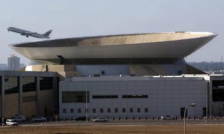 Ben Gurion airport in Israel