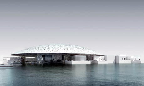 Jean Nouvel's design for the Louvre museum in Abu Dhabi