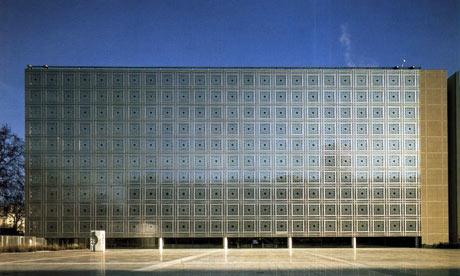 The Ima Institut Du Monde Arabe Building in Paris, France by the architect Jean Nouvel
