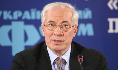 Mykola Azarov, Kiev, Ukraine - Feb 2010