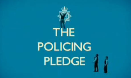 The policing pledge advert