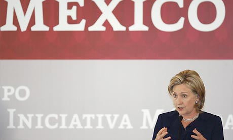 Hillary Clinton in Mexico