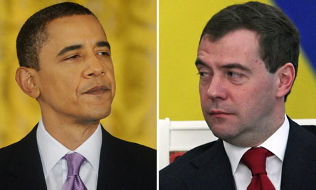 Obama and Medvedev to sign nuclear treaty