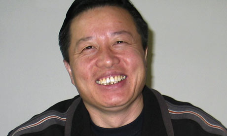 Chinese human rights lawyer Gao Zhisheng in Beijing