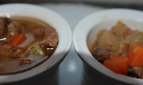 Beef stew salted unsalted