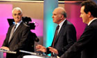 Vince Cable won most applause in live TV debate with Alistair Darling and George Osborne