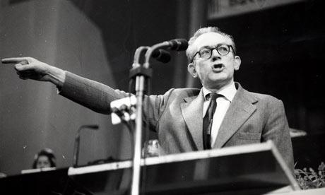 Michael Foot Scarborough Yorkshire 1960