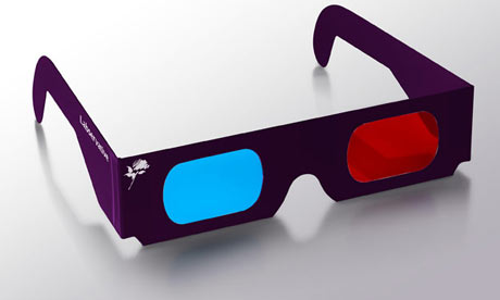 3D glasses for Lib Dem Labservative election campaign