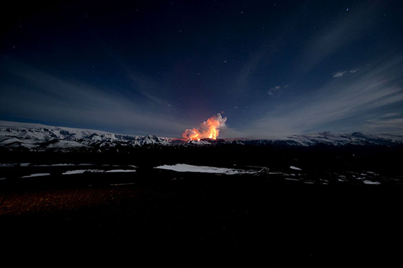 2010 iceland volcano eruption. Iceland volcano: Volcanic