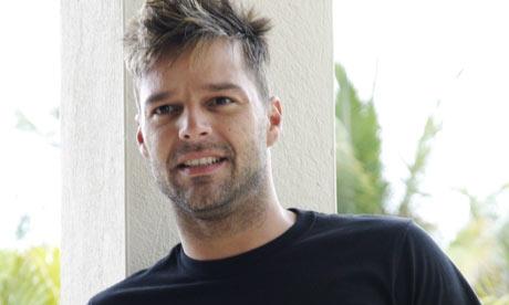 ricky martin gay. Ricky Martin . . . is the