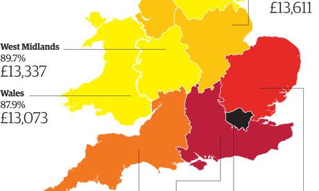 UK incomes graphic