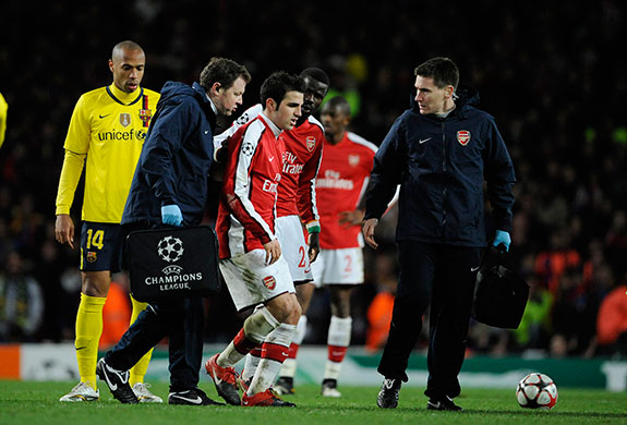 Arsenal were outclassed as Barcelona unfurled some of the best of their skills... Yet a fight is never over until the last bell rings or a man is counted out and, miraculously, Arsenal remained on their feet   James Lawton