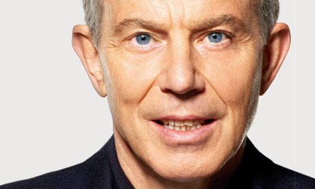 The cover of Tony Blair's book The Journey.