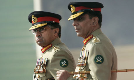 Pakistan increases power of army strongman General Ashfaq Kayanipervez musharrafs daughter