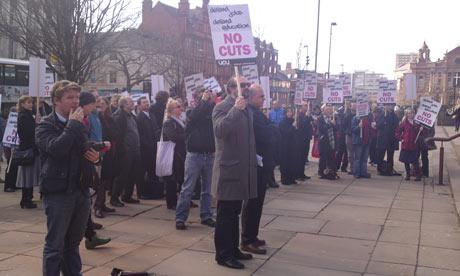 Leeds university union protest