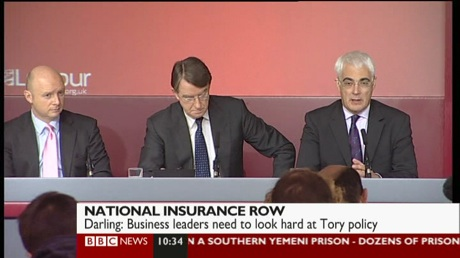 Byrne, Mandelson and Darling