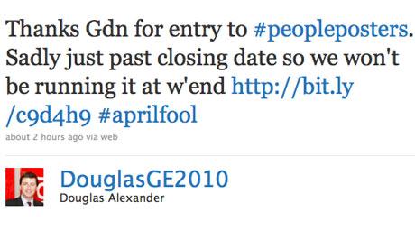 Douglas Alexander Twitter