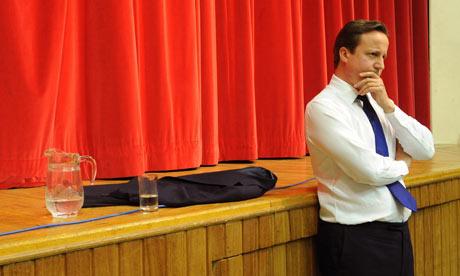 David Cameron visits Oxfordshire