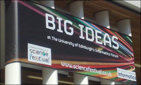 Edinburgh International Science Festival -