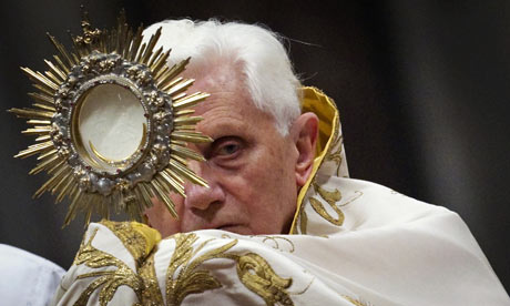 Pope Benedict XVI has said Christians have often avoided the word penance, ...