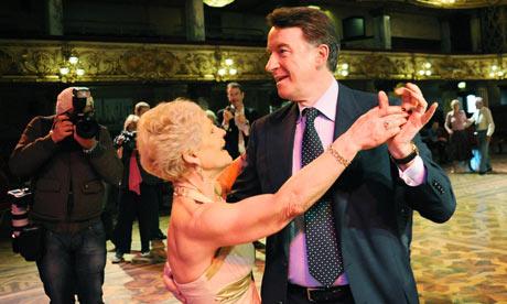 Mandelson dancing