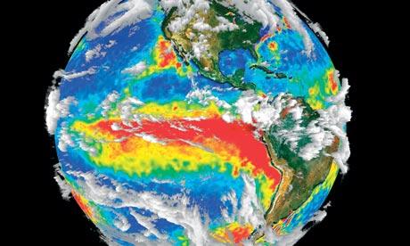 El Nino gathering size