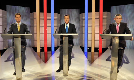 UK's first ever leader's debate