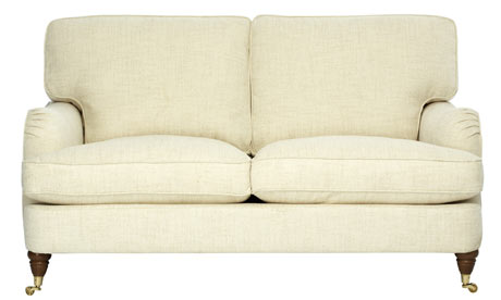 Space solves mildewed curtains and a small sofa life and style the guardian Small 2 seater sofa