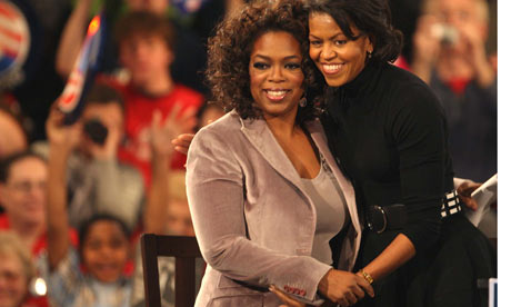 oprah winfrey biography book. Oprah Winfrey Joins Obama On