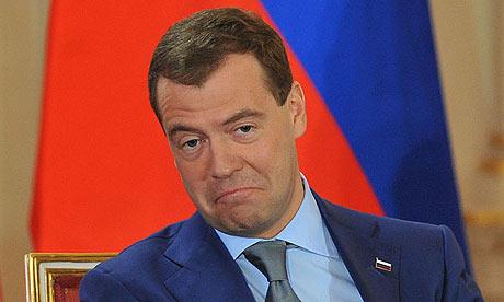 Russia President Dmitry Medvedev