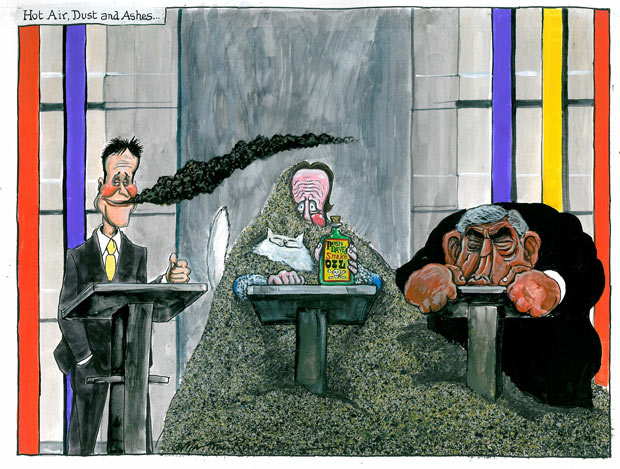 Martin Rowson: Nick Clegg is now a contender to be PM