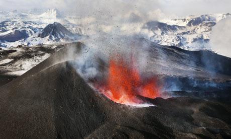 iceland volcano lightning wallpaper. above Iceland volcano