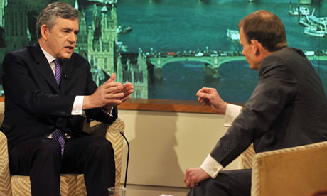 gordon brown on the Andrew Marr show
