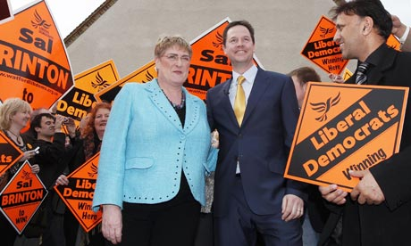 Nick Clegg and Sal Brinton